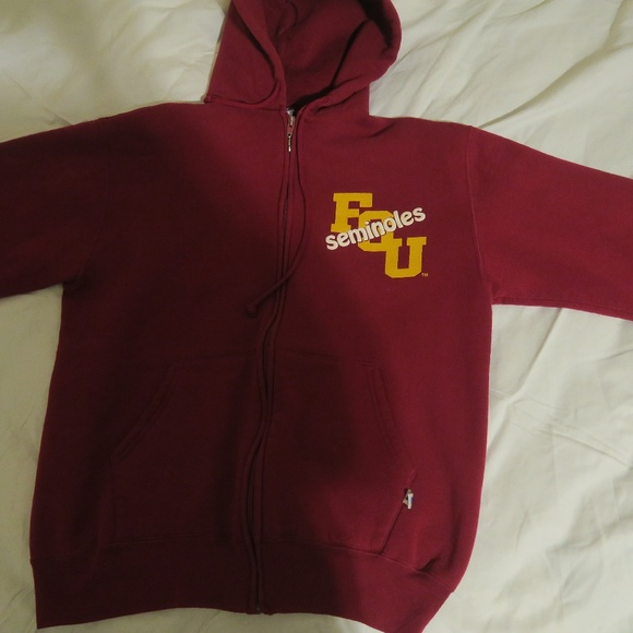 Russell Athletic Other - VTG 90s Russell Athletic Florida State Zip Hoodie
